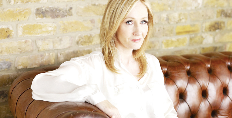 J.K. Rowling casts new spell
