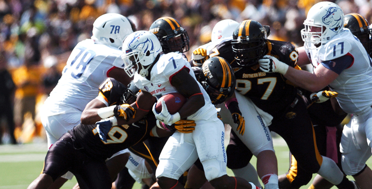 USM to play the high-powered Boise St. Broncos