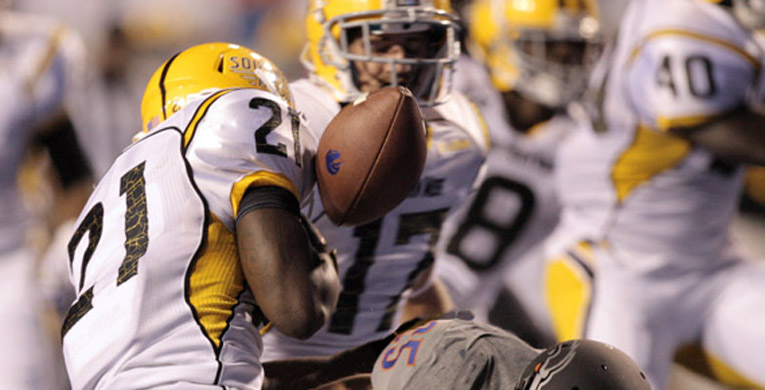 USM falls to Boise State 60-7