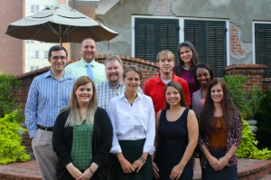 2013 CART Members: Back row left to right: Chris Morabito, Harry Wadsworth, Dr. Madson, Kray Scully, Caitlin Ayres, Danielle Cottonham. Front row left to right: Mary Anne Messer, Margo Villarosa , Kaila Christman,  Kayla Moorer. Courtesy photo