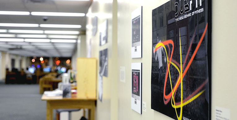 Graphic artists showcase senior projects