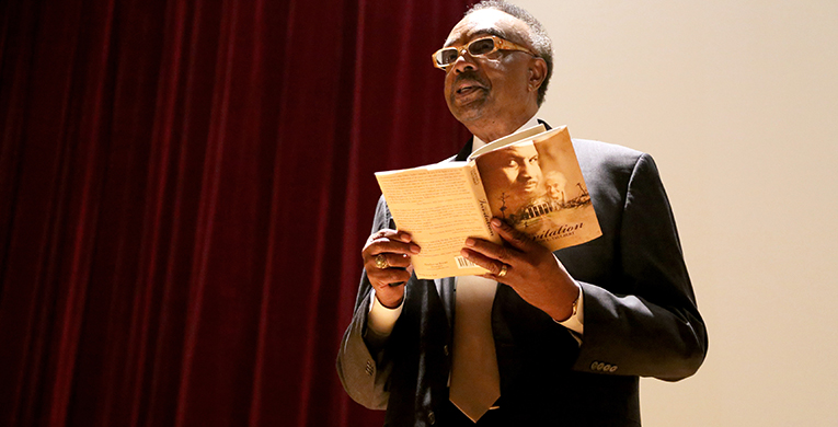 Delta native speaks in Black History Month lecture series