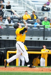 Sophomore second basemen Nick Dawson had two hits and three RBIs Tuesday night against Louisiana-Monroe. Printz Archives