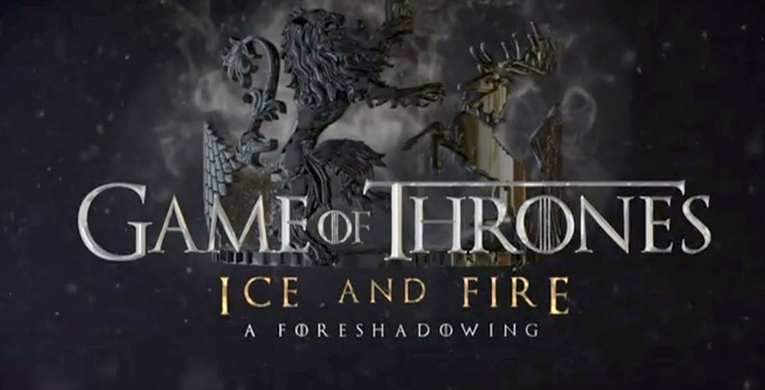 Non-reader foretells 'Ice and Fire'