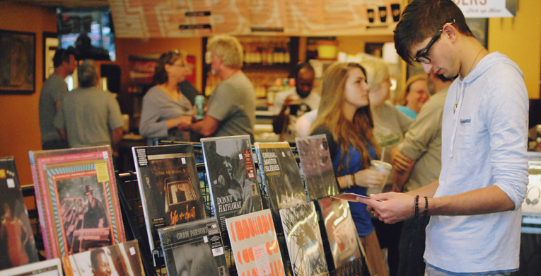 T-Bones honors National Record Store Day