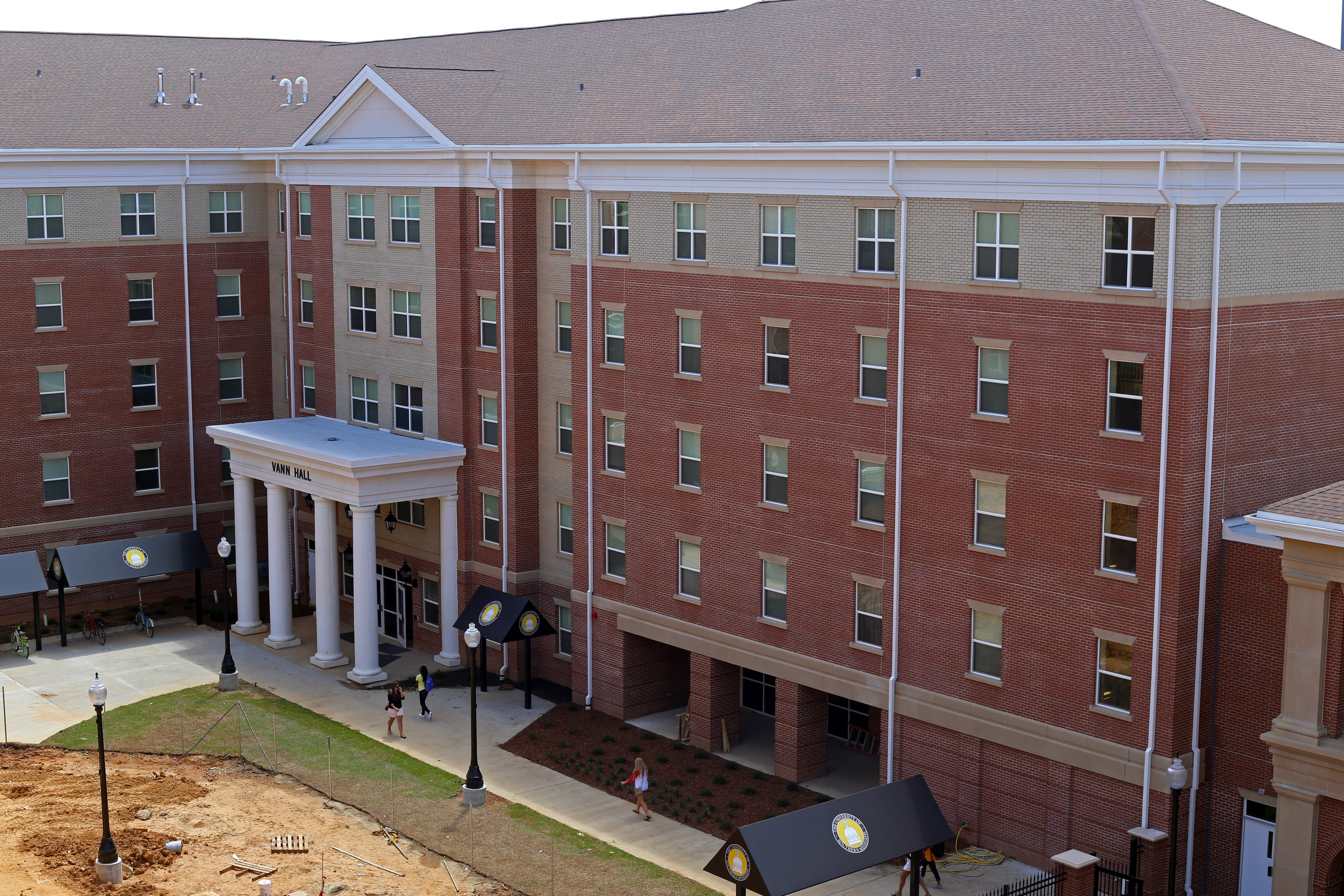 Campus revamped:  the construction continues