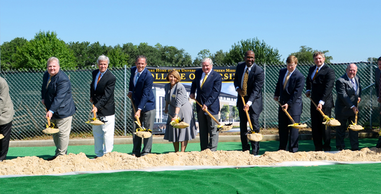 USM breaks ground for Asbury Hall