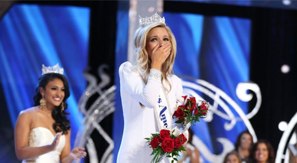 Miss New York Kira Kazantsev was crowned Miss America 2015 Sunday night. -Courtesy photo