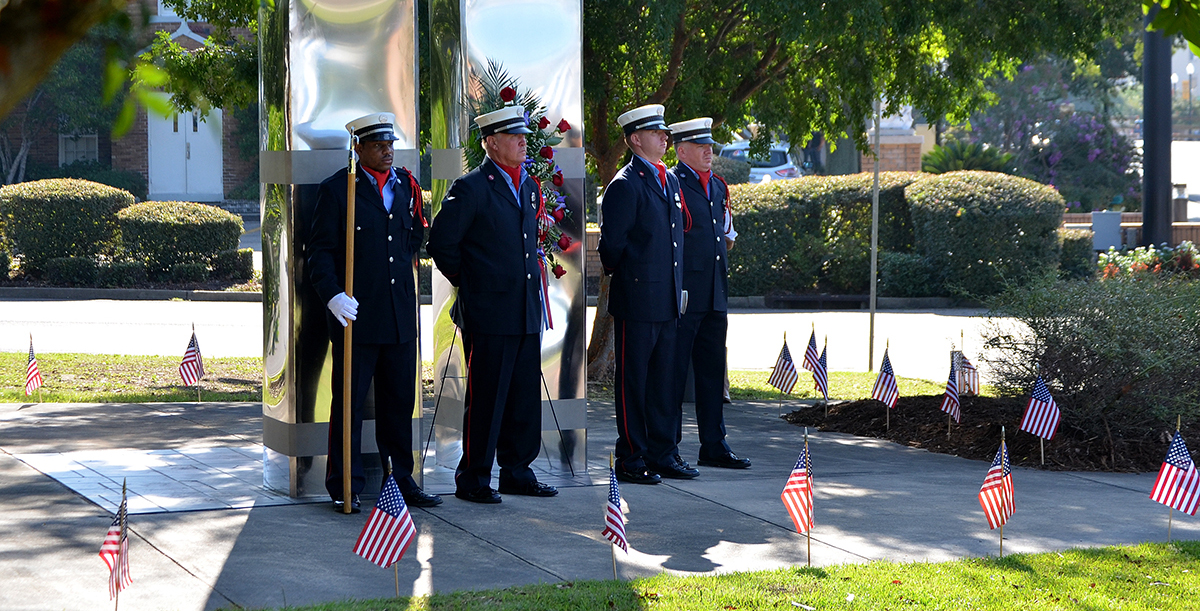 City commemorates post 9/11