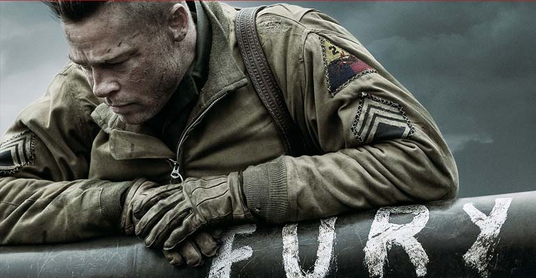 'Fury' depicts reality, harshness of war