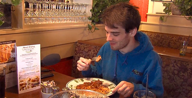 Man Takes On Seven Weeks Of Pasta The Student Printz