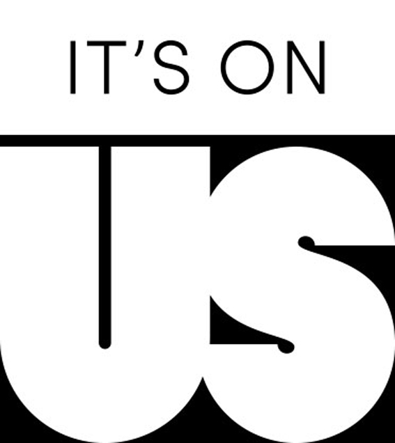 It's On Us logo courtesy of itsonus.org. It's On Us is a campaign to recognize sexual assult and find ways to prevent it. Southern Miss SGA is trying to bring the campaign to campus.