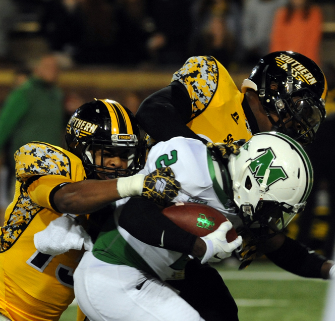 Marshall defeats Southern Miss