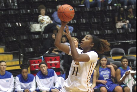 Lady Eagles Cruise to Win, 67-55