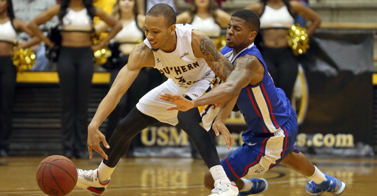 USM struggles continue with 34-point loss