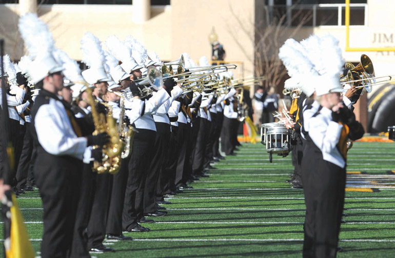 """Pride Band showcases """"The Olympics"""""""