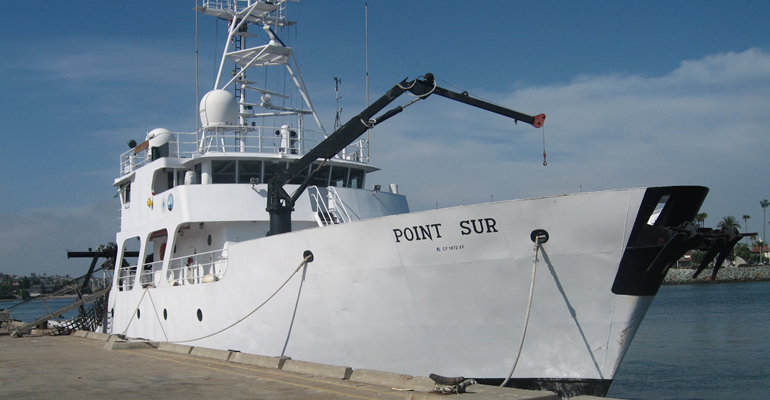 USM's Point Sur arrives in Gulfport Sunday