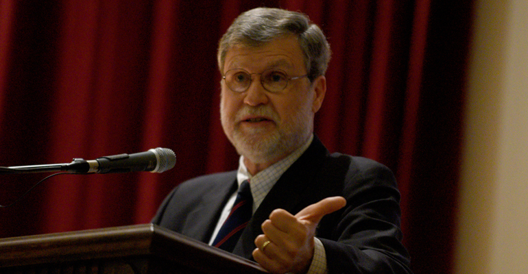 McCauley Talks Religion, Science in Tuesday's Lecture