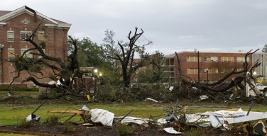Weather Channel Features 'Burg in Tornado Series