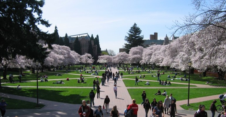 Univ. of Washington Students Protest Wages