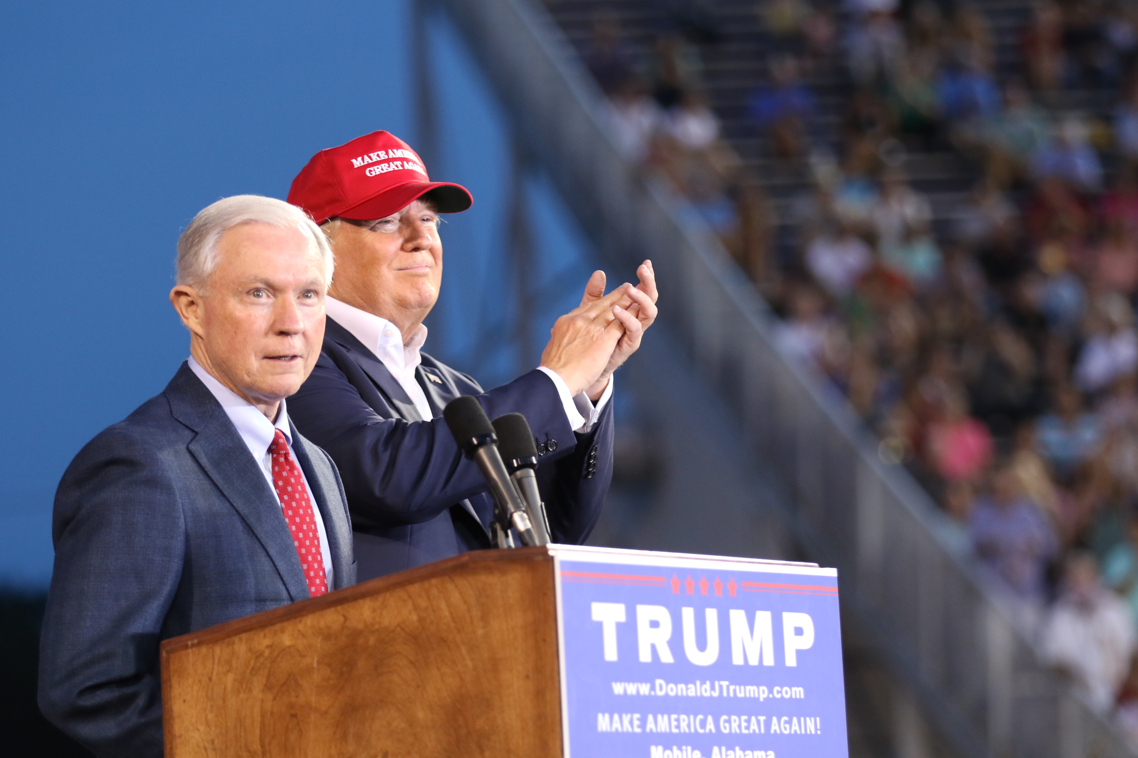 Image result for trump with sessions