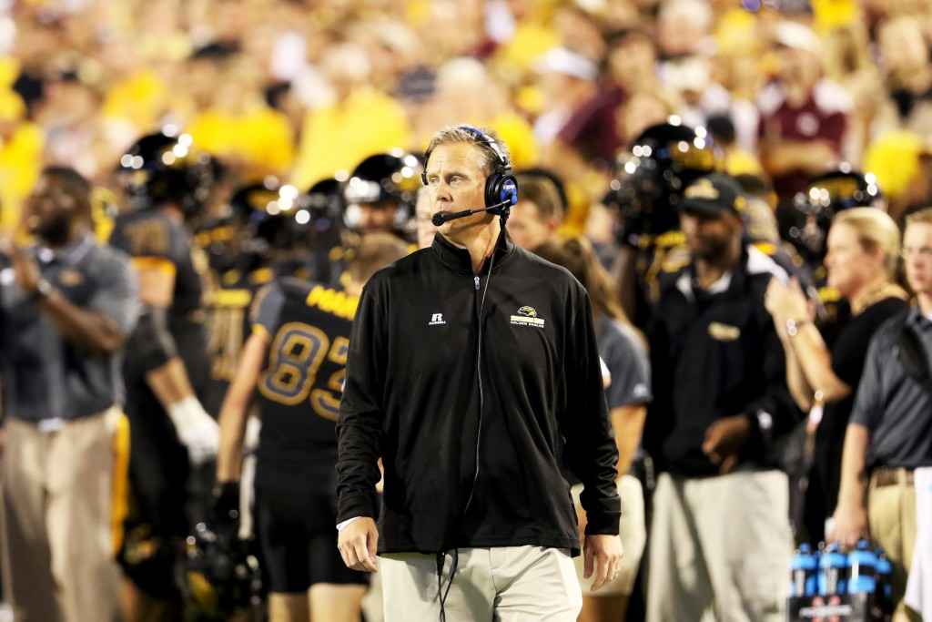 Southern Miss head coach Todd Monken