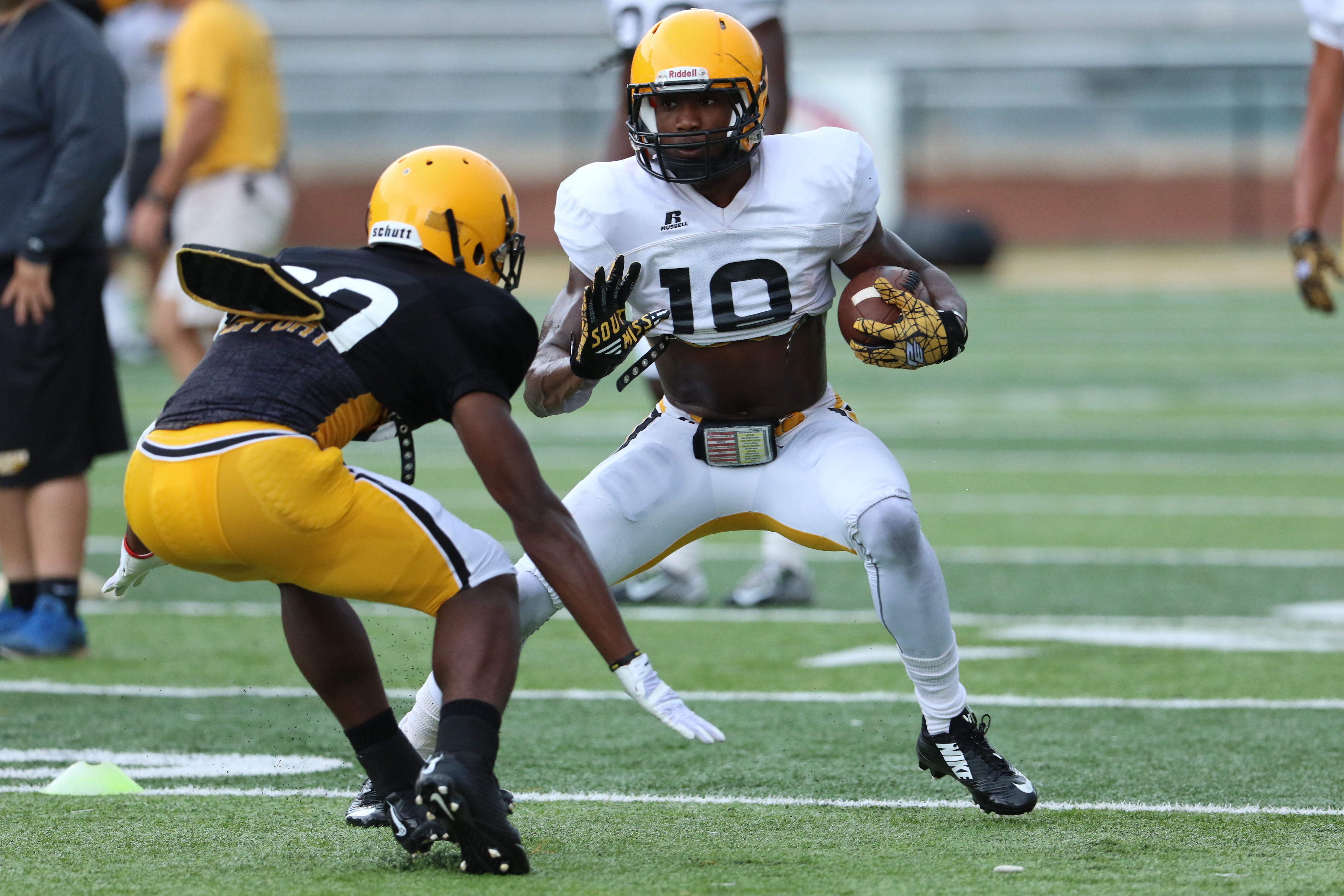 USM offense searching for explosion