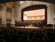 The Southern Miss Showcase Concert of the Southern Invitational Choral Conference 2015 was held at Bennett Auditorium on the USM campus Monday, September 28, 2015. Fadi Shahin/Student Printz