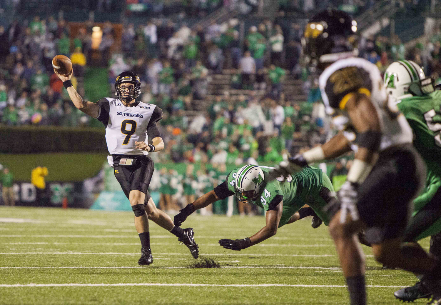 USM drops tough road game to Marshall
