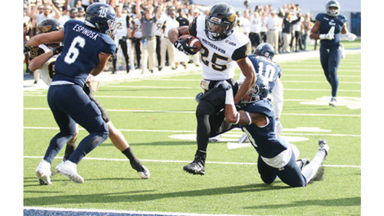 USM spoils homecoming for Rice in blowout