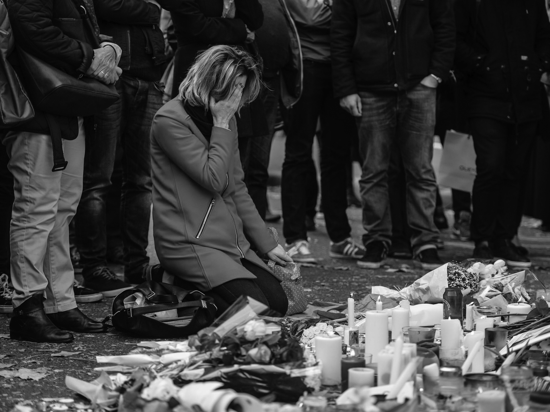 May peace be with all the victims and families' Parisian shares thoughts on recent events