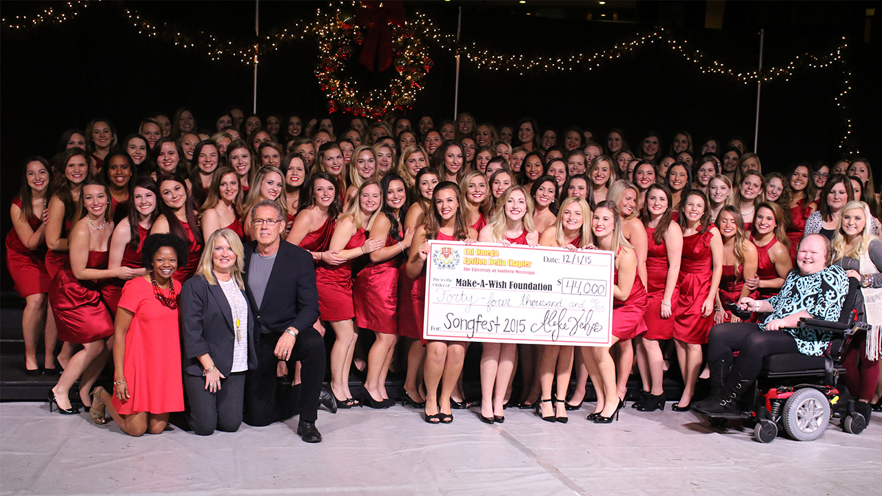 Chi Omega raises money to grant wishes