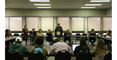 SGA outlines spring agenda in first semester meeting