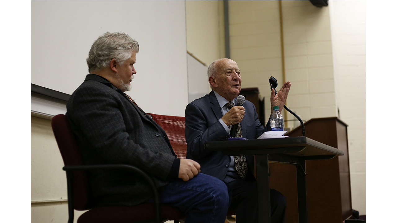 Three times before [age 16], I should have died.' Holocaust survivor shares story at USM