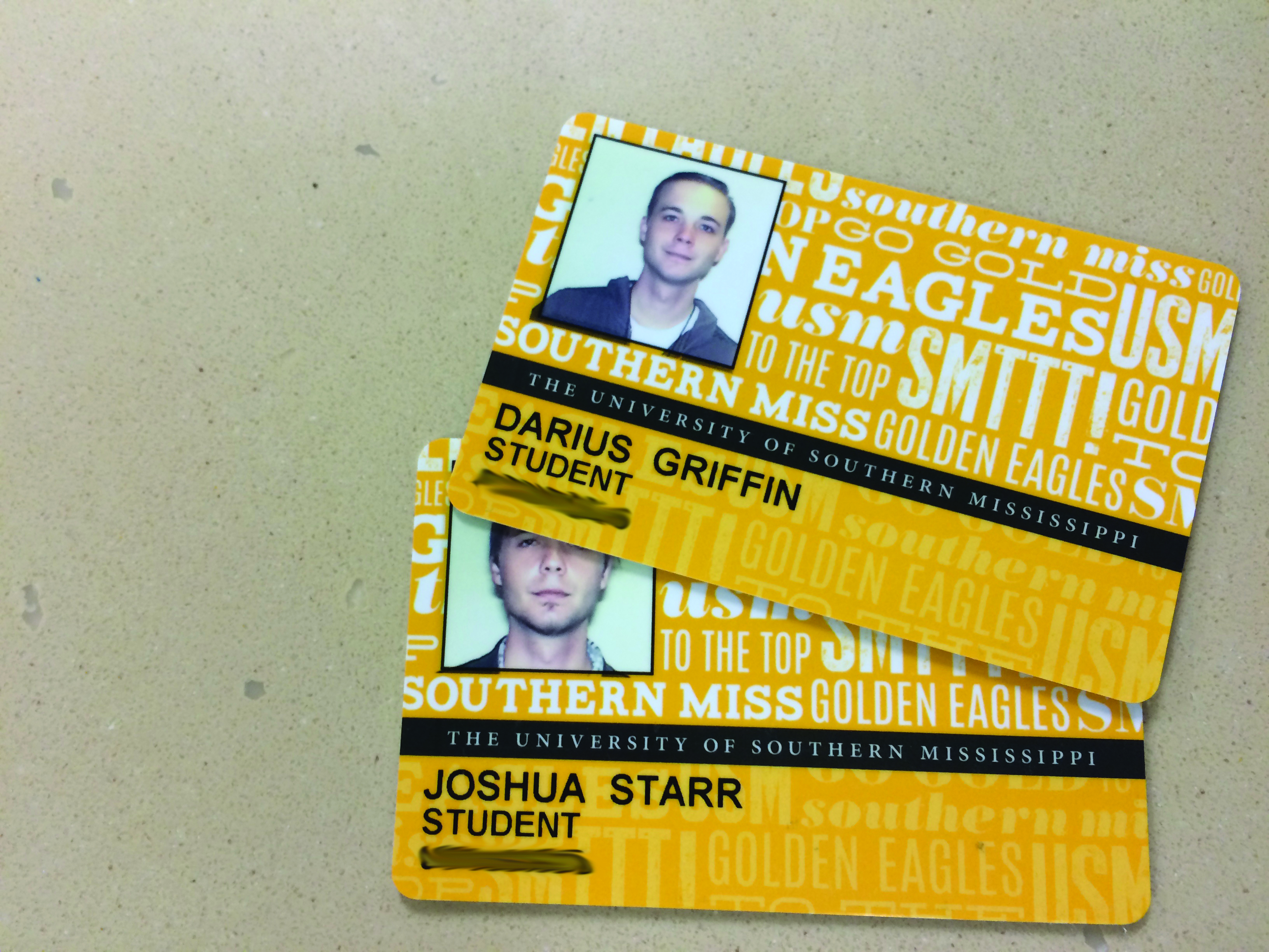 USM policy allows theft of student identities