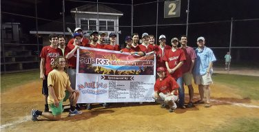 Fraternity philanthropy hits home run