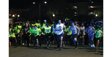 Glow Run attempts to keep students safe, healthy
