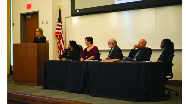 Experts discuss high incarceration rates within state