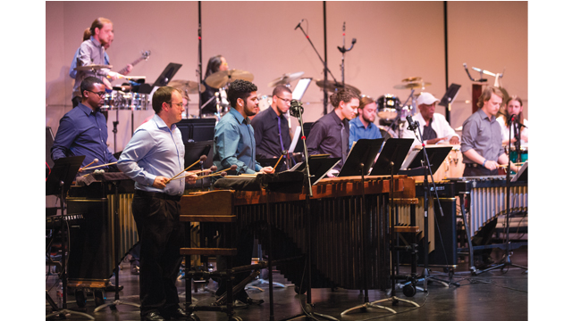 World-renowned percussionist performs in Mannoni Performing Arts Center