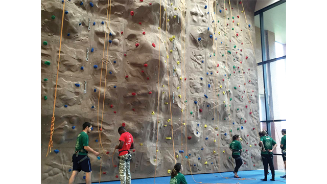Rec sports 'climbs' to the top