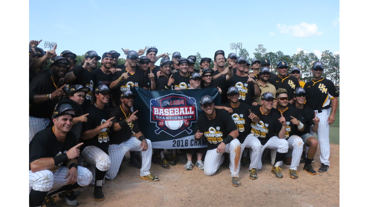Southern Miss Golden Eagles' Baseball Wins C-USA Championship