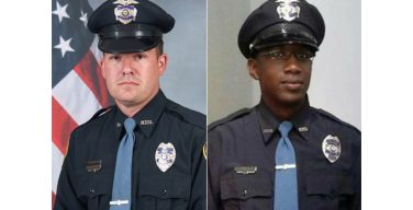 City, community send fallen officers' families to memorial