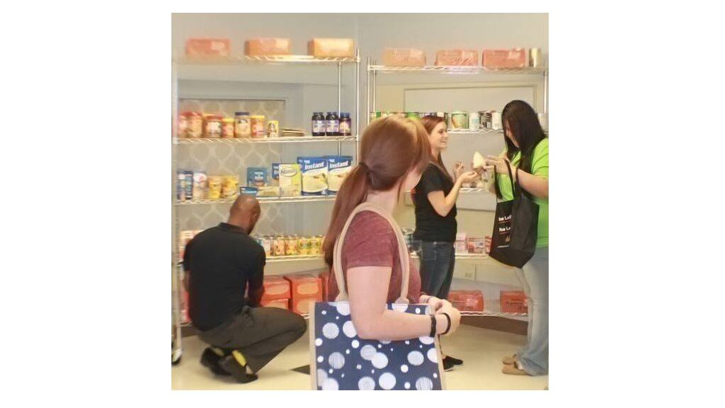 Eagle's Nest Food Pantry continues to feed students