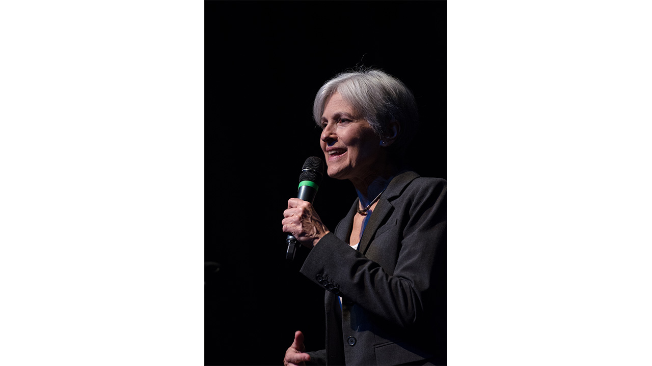 Jill Stein visits University of Miss., preaches politics
