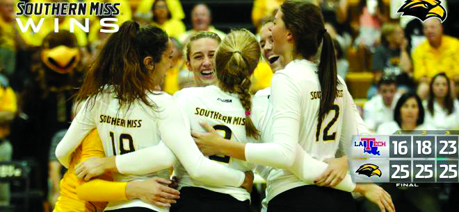 USM sweeps Lady Techsters at conference