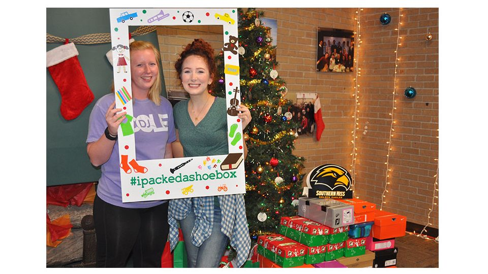 BSU collects for global Christmas gift giving