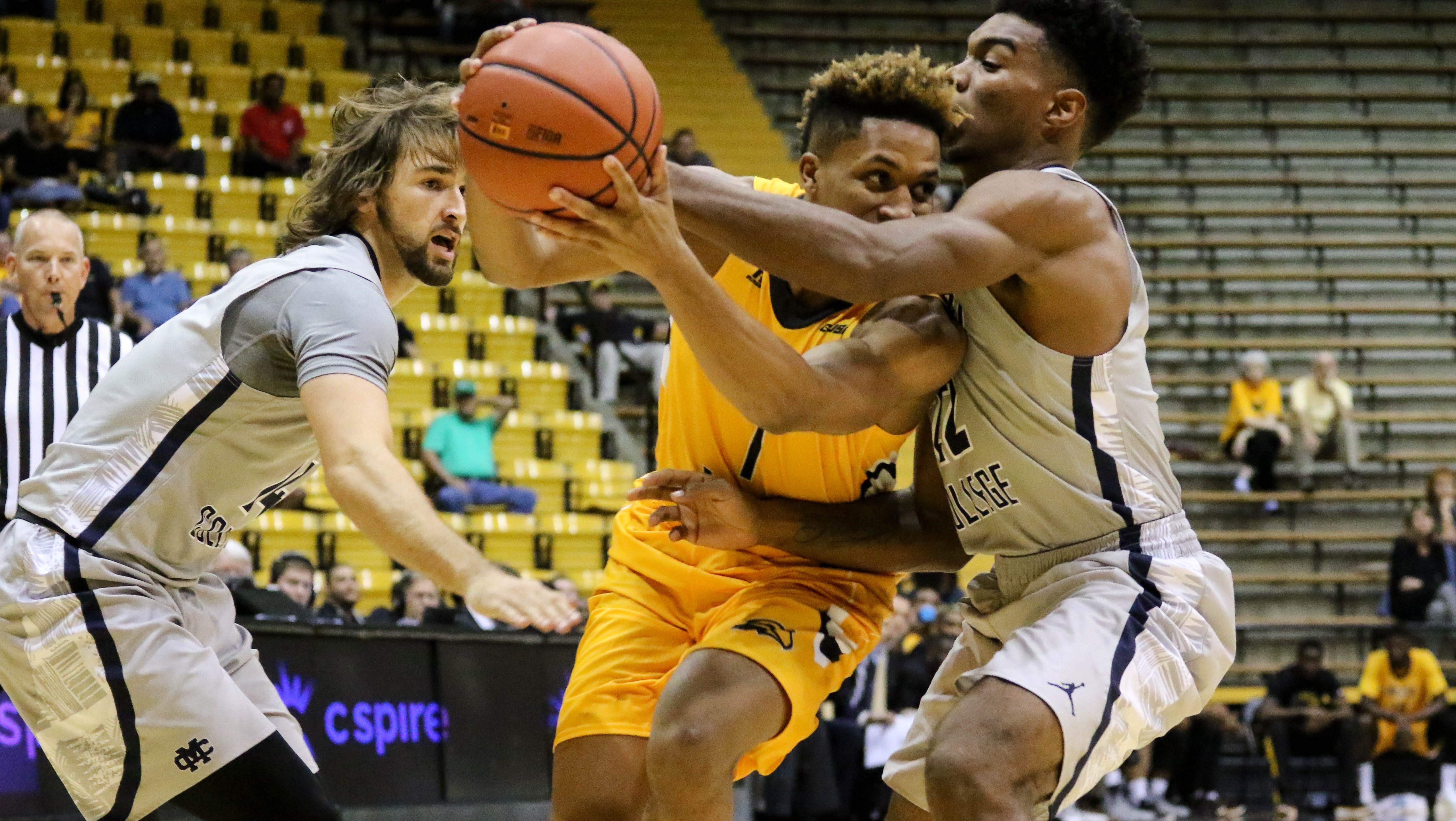Southern Miss survives double overtime scare, 96-95