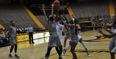 Lady Eagles fall in Las Vegas Tournament opener