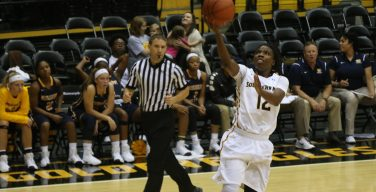 Dinkins leads to win over MVSU, 83-55