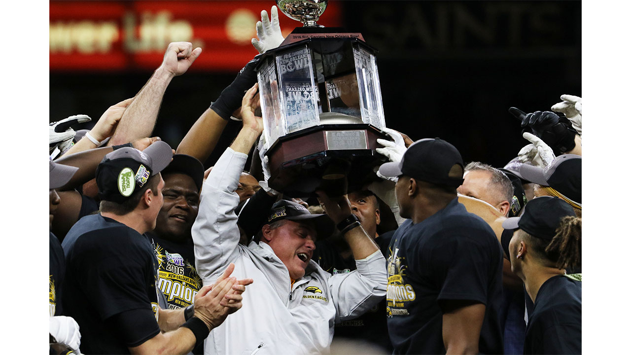 USM has record night at the New Orleans Bowl